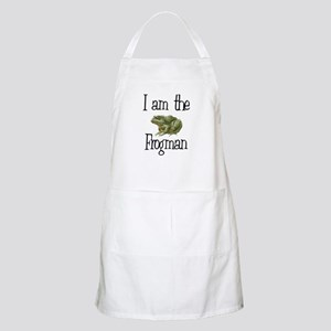 I am the Frogman BBQ Apron